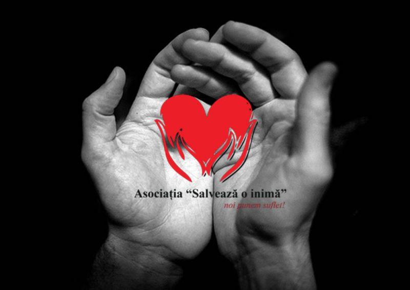 """De astăzi sunt pe metereze alături de Asociația """"Salvează o Inimă"""""""