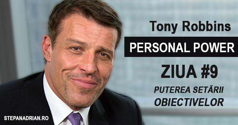 Tony Robbins Personal Power: Puterea Setării Obiectivelor (#9)