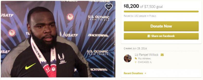 Un client Uber a strâns $8000 ca să-și trimită șoferul la Olimpiada de la Rio