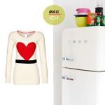 Über Pullover und Kühlschränke