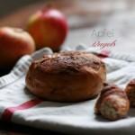 Der Apfel im Bagel