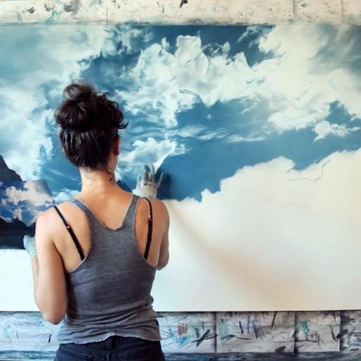 мастер-класс живописи абстракция