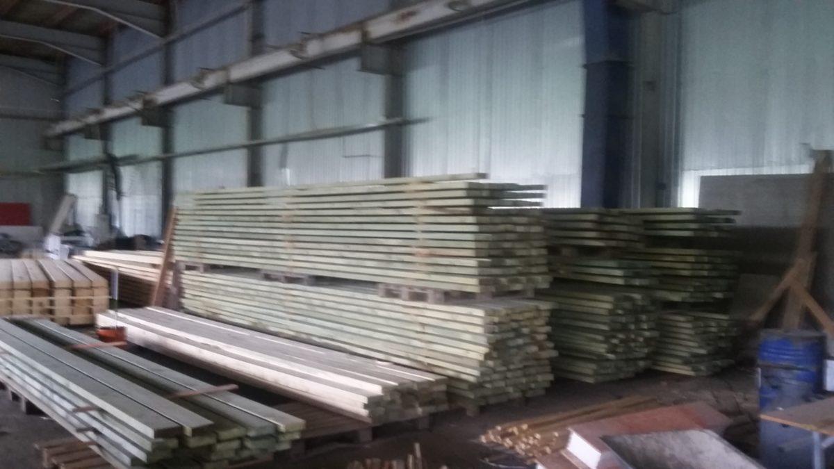 Обработка древесины при строительстве деревянных домов