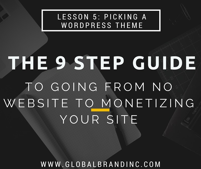 Lesson 5: Picking and Downloading your WordPress Theme