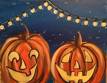 Night Time Jack O' Lanterns