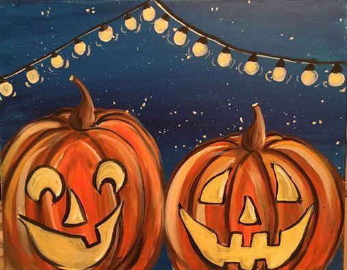 Night Time Jack O' Lanterns