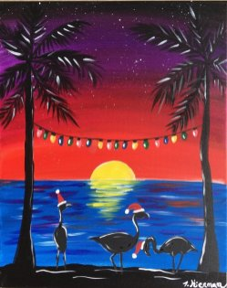 canvas painting for beginners step by step