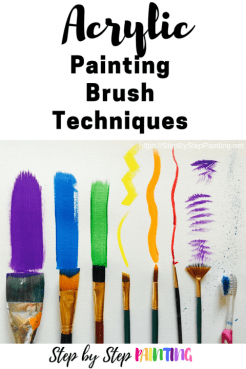 Acrylic Brush Techniques