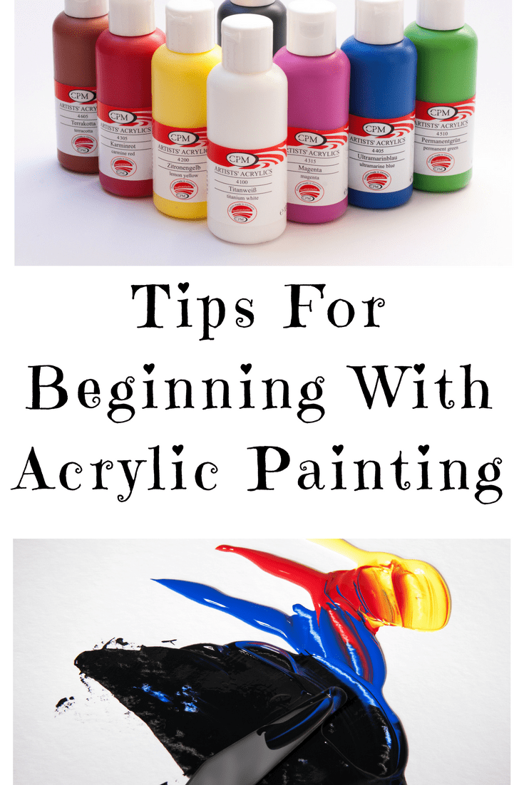16 tips for beginning with acrylic painting step by step painting