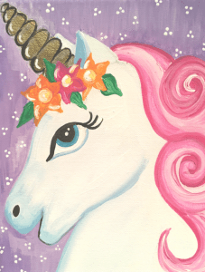 Cute Unicorn Painting