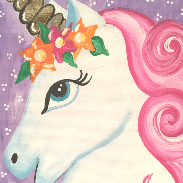 Cute Unicorn Painting