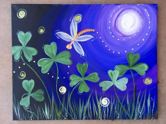 Whimsical Clovers