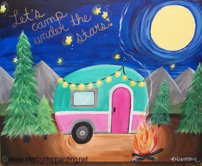 Camper Painting