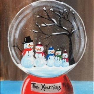 How To Paint A Snow Globe
