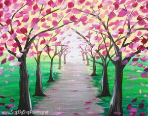 Spring Painting Tutorials Step By Step Painting With Tracie Kiernan