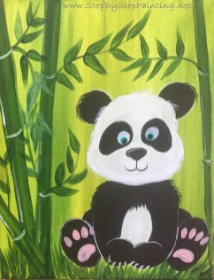 How To Paint A Panda