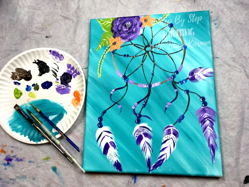 Dream Catcher Painting Acrylic Painitng Tutorial With Pictures