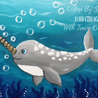 How To Paint A Narwhal