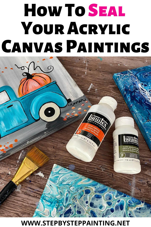 Can I Put Mod Podge Over Acrylic Paint : podge, acrylic, paint, Acrylic, Painting