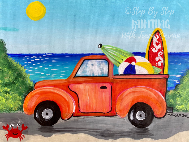 Summer Truck Painting