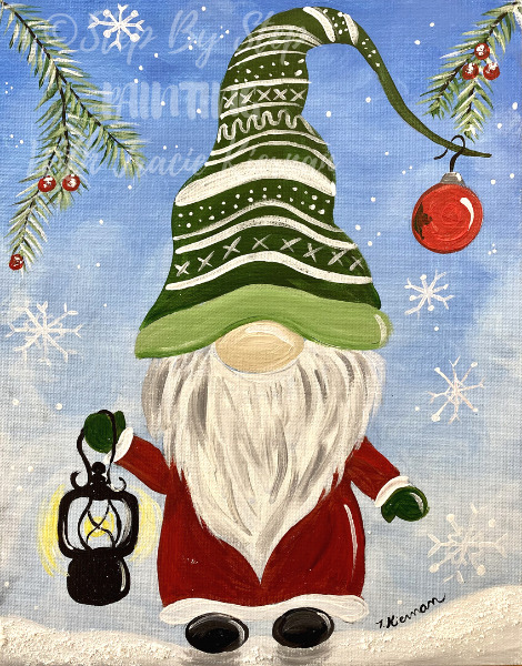 How To Paint A Winter Gnome