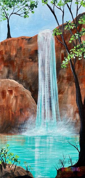 Havasu Falls Painting Tutorial