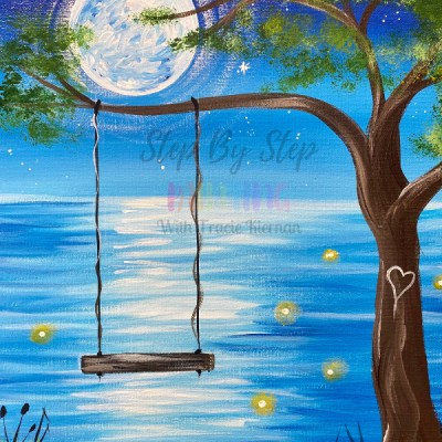 Whimsy Summer Swing Painting Tutorial