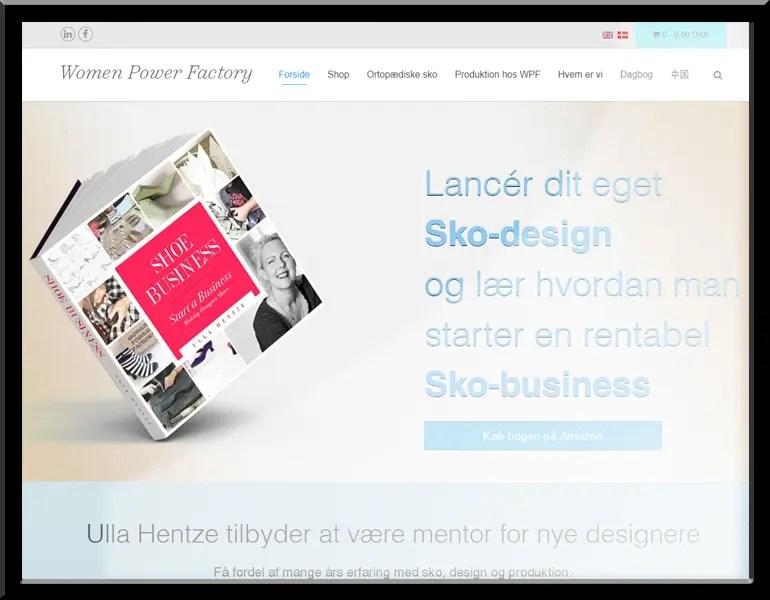 Wordpress website, WomenPowerFactory.com