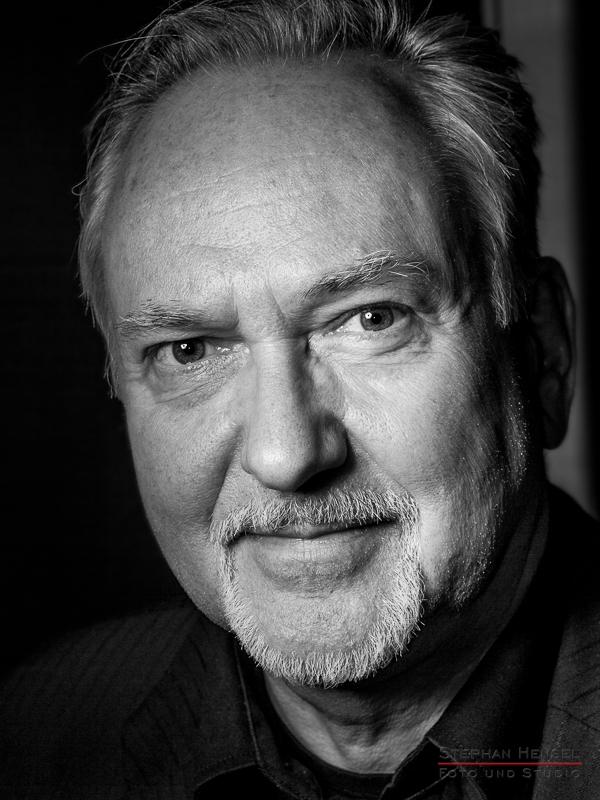 Joachim Witt im Studio bei Stephan Hensel, Portraitfotograf: Stephan Hensel