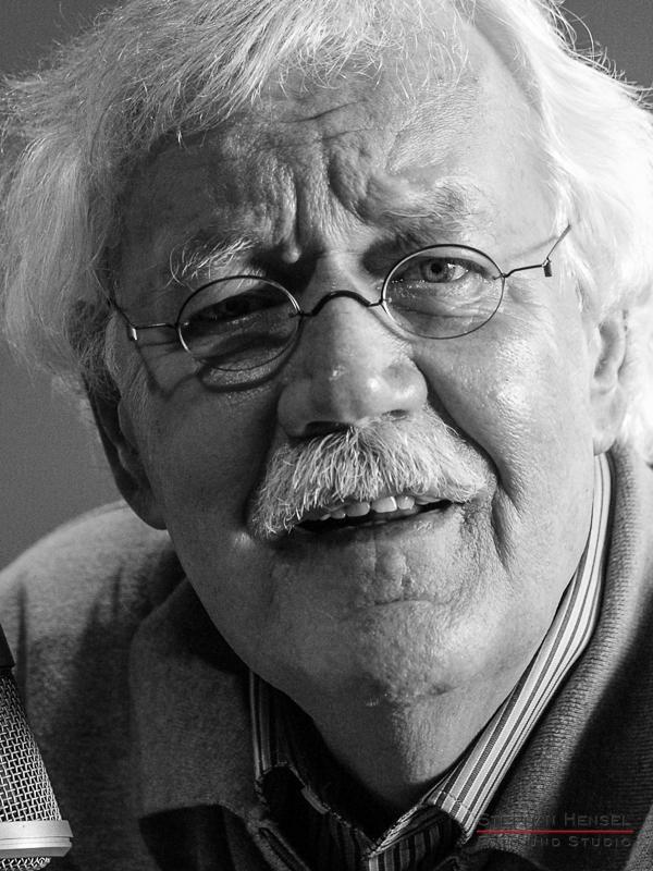 Carlo von Tiedemann im Studio bei Stephan Hensel, Portraitfotograf: Stephan Hensel