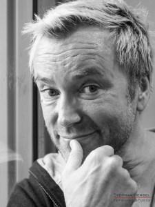 Uwe Kröger im Studio bei Stephan Hensel, Portraitfotograf: Stephan Hensel