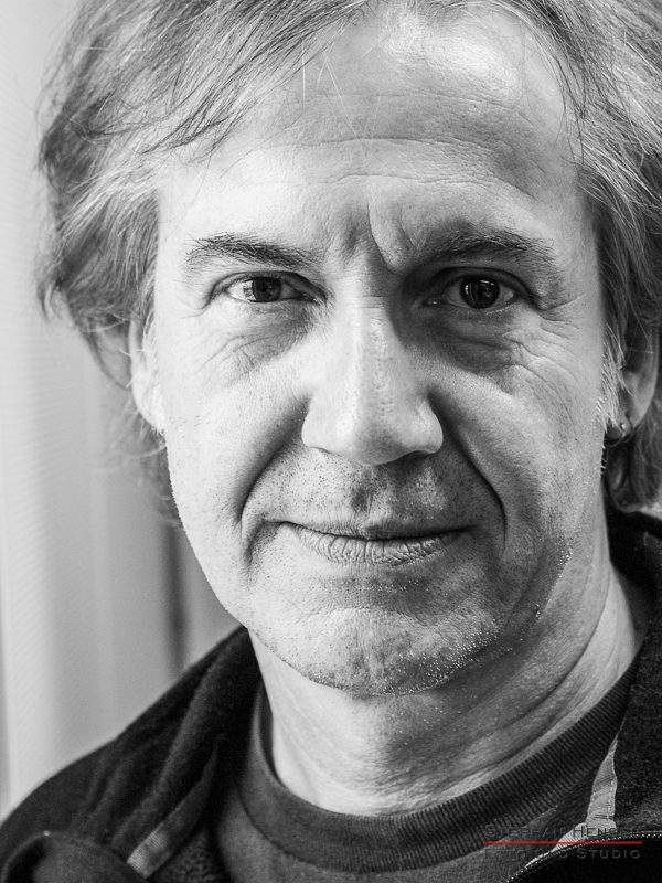 Michael Kunzi von der Münchner Freiheit im Studio bei Stephan Hensel, Portraitfotograf: Stephan Hensel