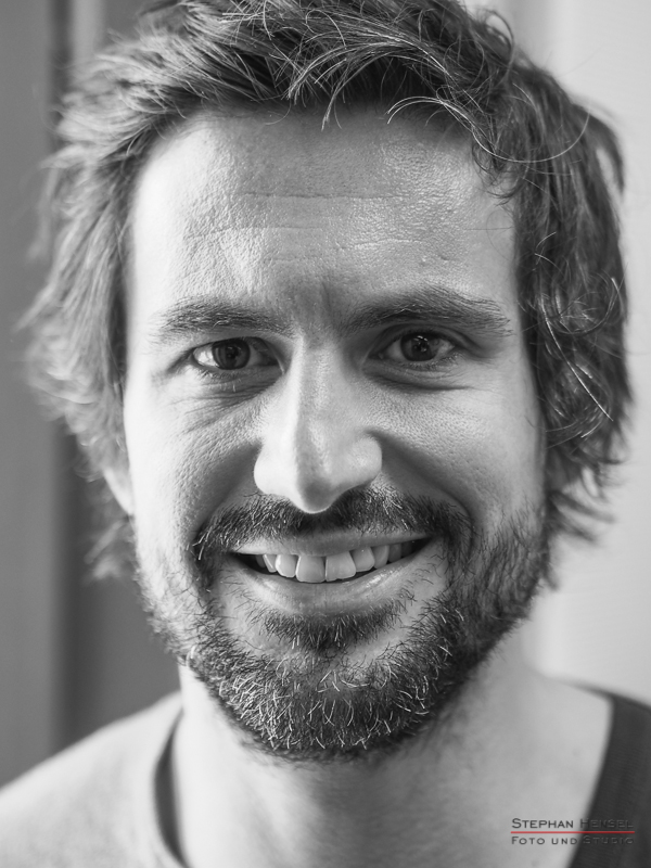 Tom Beck im Studio bei Stephan Hensel, Portraitfotograf: Stephan Hensel