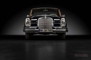 Mercedes-Benz 230 S (W111), Oldtimer, Frontalansicht, Automobilfotograf: Stephan Hensel, Traumwagenbilder, Hamburg