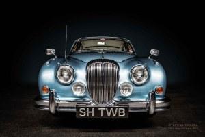 Daimler 250 V8 , Oldtimer, Ansicht von vorn, Autofotograf: Stephan Hensel, Oldtimerfotograf, Hamburg