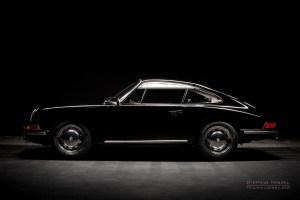 Porsche 912, Oldtimer, Seitenansicht von links, Autofotograf: Stephan Hensel, Oldtimerfotograf, Hamburg