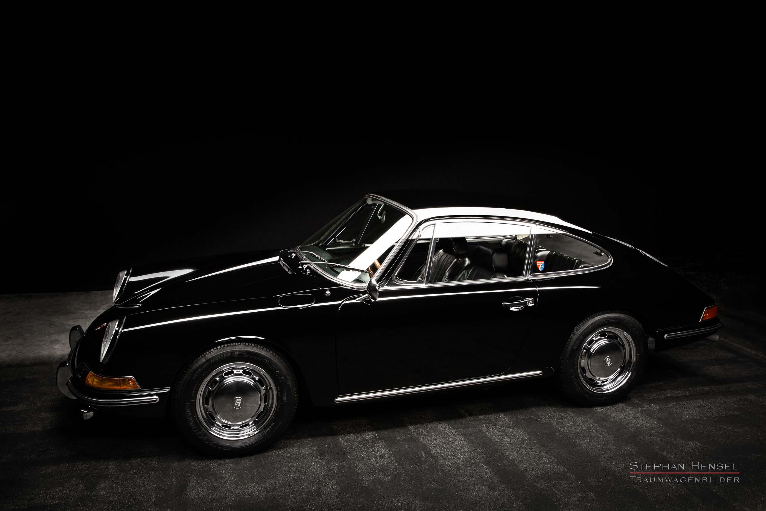 Porsche 912, Ansicht von links vorn, Autofotograf: Stephan Hensel, Oldtimerfotograf, Hamburg