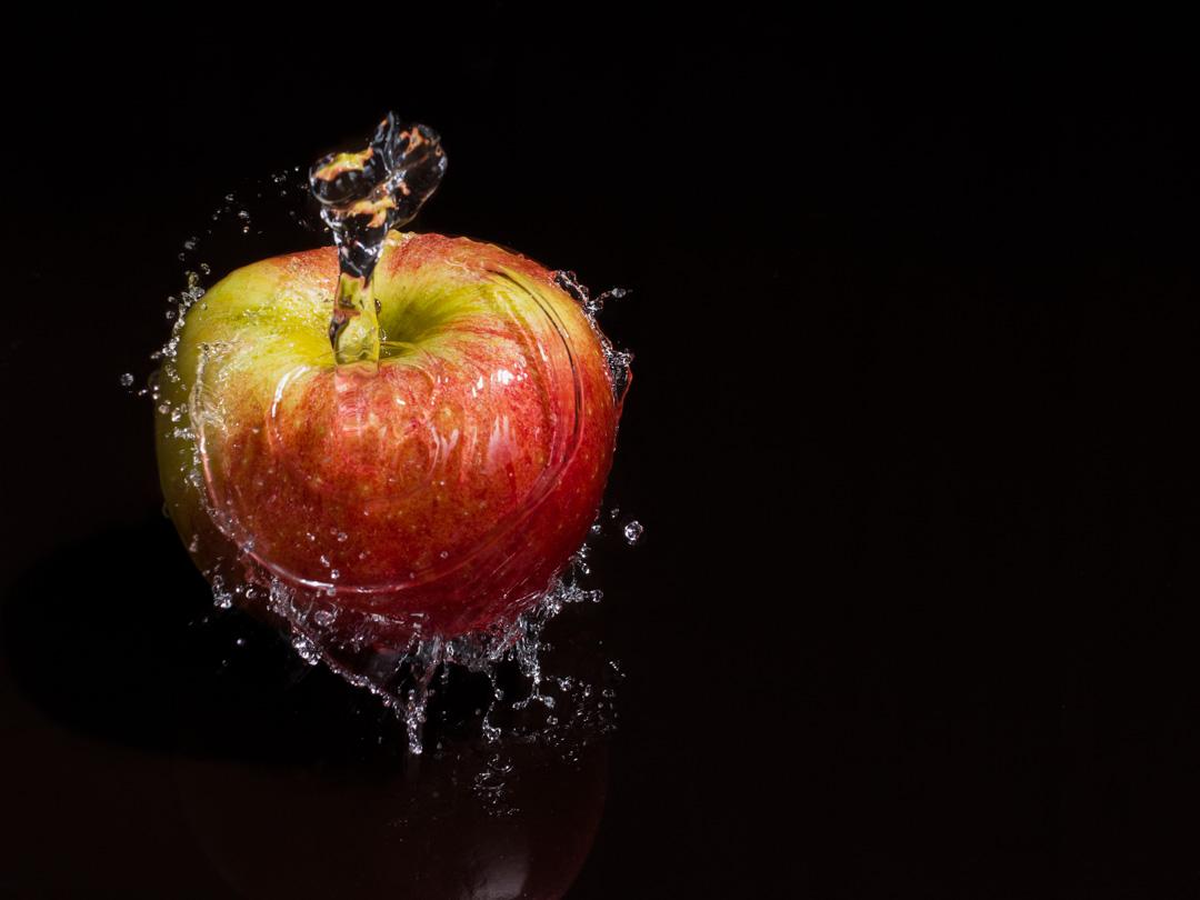 Habit de fraîcheur pour une pomme