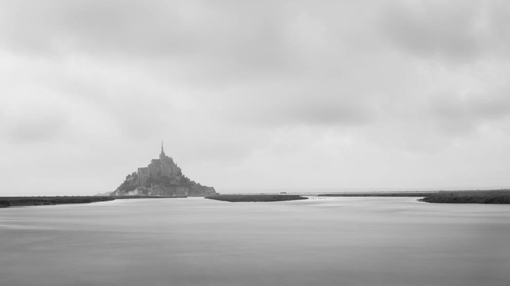 Naviguer vers le Mont Saint-Michel