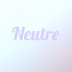 Cover Playlist Neutre