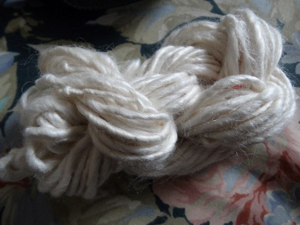 Skein of bamboo yarn