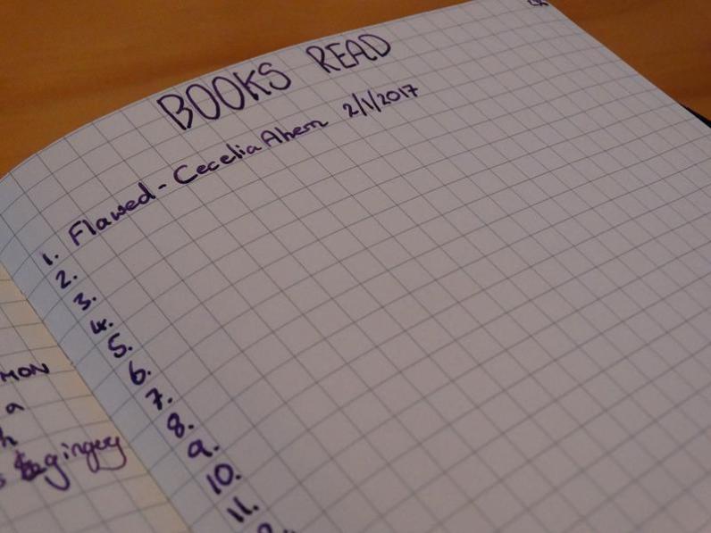 Book reading tracker