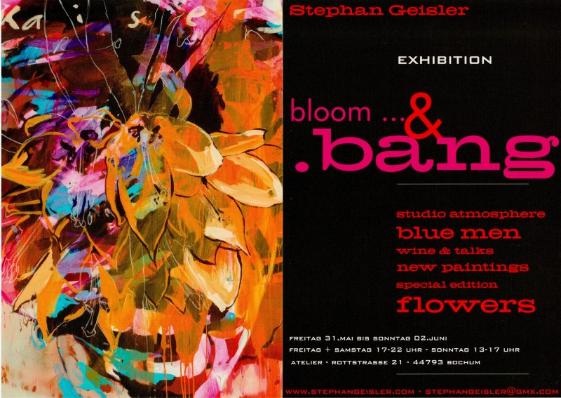 Bloom and Bang - Stephan Geisler