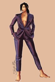 Shimmer suit