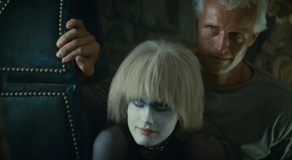 A movie still from Blade Runner 1982