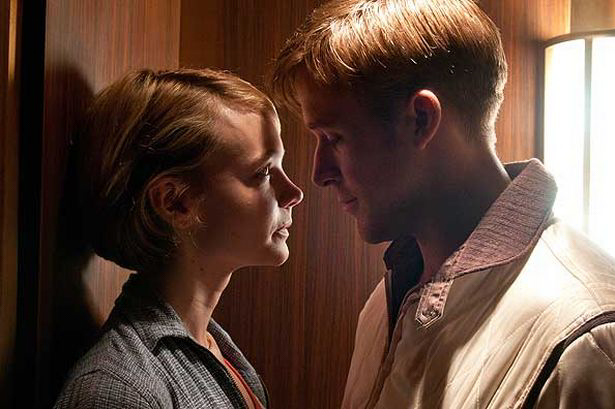 A movie still from Drive
