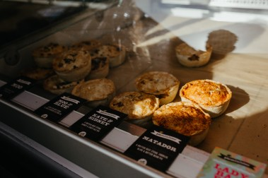 Pieminister at Borough Market. Picture by Stephanie Green Weddings