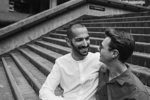 stephanie-green-weddings-london-barbican-photographer-couples-shoot-engagement-lgbtq-gay-modern-luxury-10