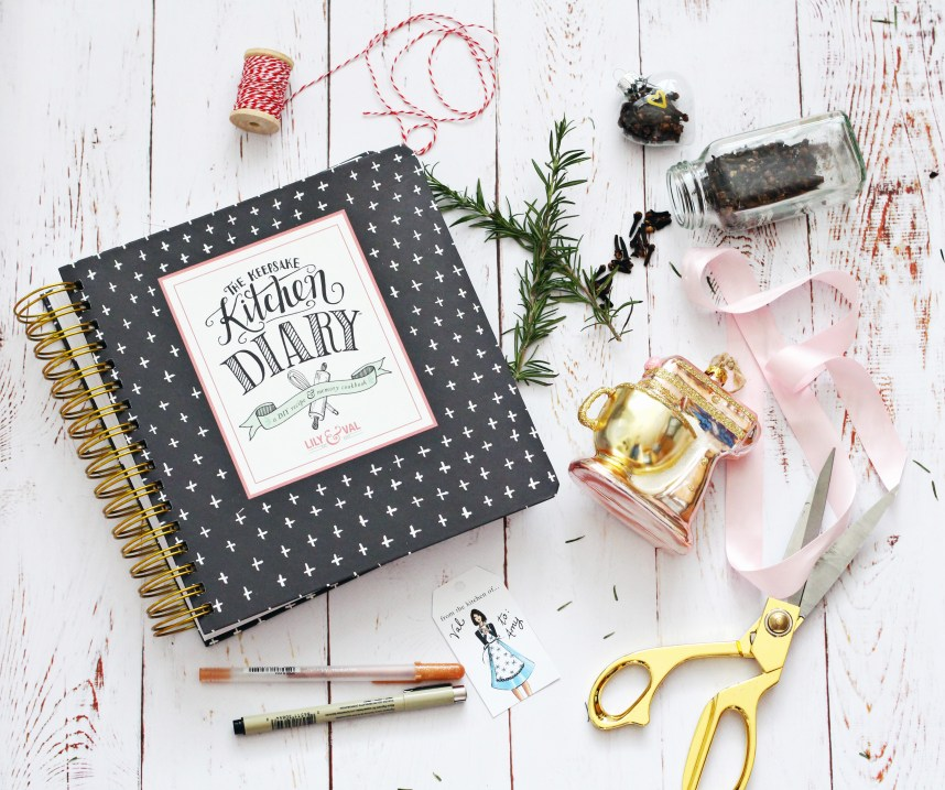 http://lilyandval.com/products/the-keepsake-kitchen-diary