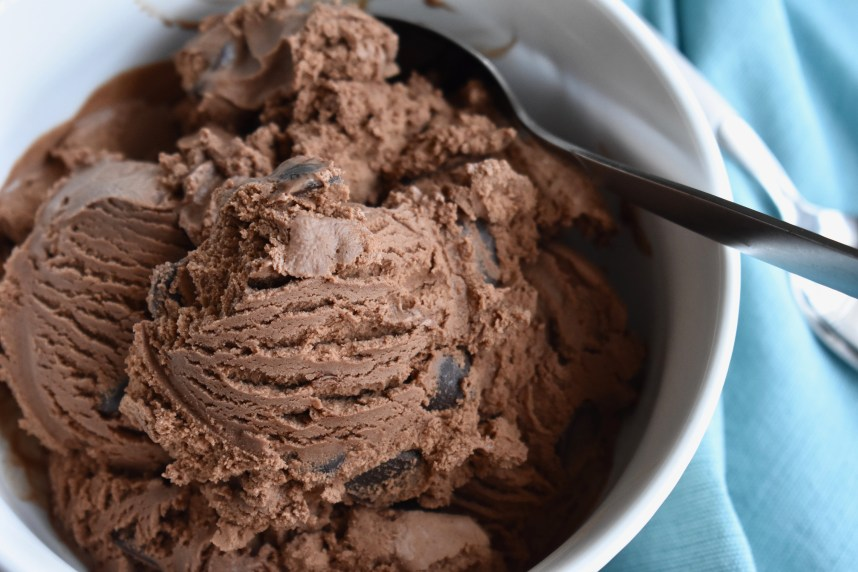 Mexican Double Chocolate Ice Cream--Recipe at: stephanie-spring.com